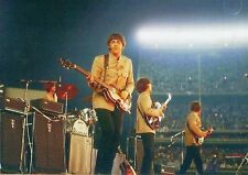 The Beatles On Stage Shea Stadium New York August 1965 Photo Print