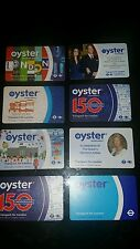 OYSTER CARDS LIMITED EDITION.SPECIAL OFFER BUY ONE SET GET ONE SET FREE