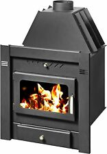 Firebox Boiler WoodBurning Stove Fireplace Insert/Inset Water Jacket 10kw SAHARA