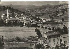 160827 PIACENZA COLI PERINO - PONTE Cartolina FOTOGRAFICA viaggiata 1955