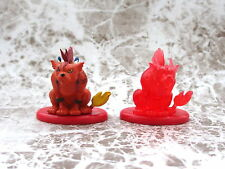 Final Fantasy Coca Cola Promo Figure Red XIII Color & Crystal set