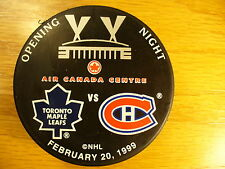 NHL Toronto Maple Leafs Canadiens Air Canada Hockey Puck Check My Other Pucks