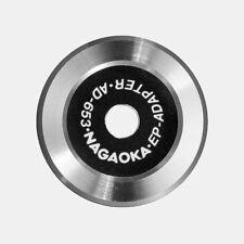 Nagaoka AD-653 Single Puck Adapter De Luxe aus Edelstahl (010162) NEU+OVP!
