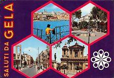 Cartolina - Postcard - Saluti da - Gela - Vedutine  -1975 -  VG