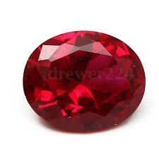 9X11MM Pigeon Blood Red Sapphire Lustrous Loose Gemstone Gem