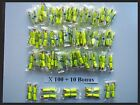EarPlugs 100 + 10 Bonus Pair 3M Yellow Neon Soft Foam Individually Wrapped 33DB