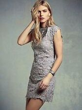 Free People Pe De Chumbo Destroyed Laced Shift Dress-L-$200 MSRP