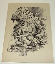 1979 MEN MAIDEN AND MYTHS - NESTOR REDONDO - SIGNED NMBRD PORTFOLIO W/ 6 PLATES