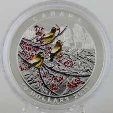 Canada 2015 $20 Weather Phenomenon: Winter Freeze 1 oz 99.99% Pure Silver Proof
