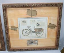 Phillipe David TRIPOTEUR DE LIVRAISON Framed Bicycle Print Paragon Print Gallery