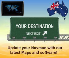 Update your Navman GPS unit with the latest australia & NZ maps and software