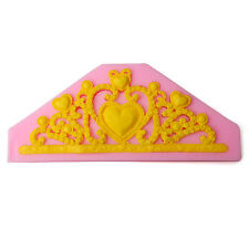 Princess Crown Silicone Fondant Mold Cake Decorating Mold Chocolate Baking Tool