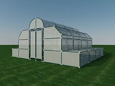 Build your own 18' X 20' PVC Greenhouse (DIY Plans) Fun to build! Save Money!