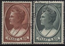 [JSC]1956 Europe Greece Queen Olga of the Hellenes Old Stamps
