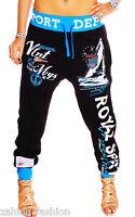 Damen Trainingshose Jogginghose Sporthose Fitness Bequem Hose NEU Style S-XXL