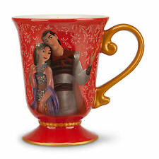 DISNEY DESIGNER FAIRYTALE COUPLE MULAN and LI SHANG Mug New PRINCESS