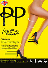Pretty Polly Legs On The Go 10 Denier Tights SM/SP Nude