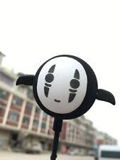 Cute Black No Face man Antenna Balls Car Aerial Ball Antenna Topper Decor Ball A
