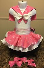 National Pageant Sailor Nautical Wear OOC Casual Wear  Size 18 Months-3t