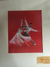 1960s DYE TRANSFER PROOF PHOTO MARGE & GOWER CHAMPION DANCE TEAM ADVERTISEMENT