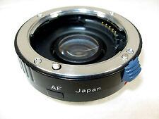 1.7 Teleconverter Lens Minolta Maxxum SLR Camera Promaster Spectrum 7 AF Japan