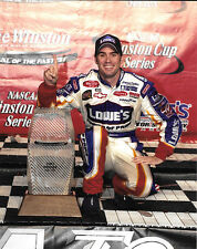 JIMMIE JOHNSON 2003 #48 LOWES ALL STAR WIN 8X10 GLOSSY PHOTO #W4