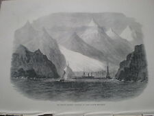 Sweden the Swedish expedition to Spitzbergen Spitsbergen 1872  print my ref S
