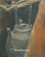 BONHAMS IMPORTANT JAPANESE LACQUER INRO PAINTINGS Misumi Coll HC Catalog 2015