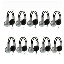 10 Pack Koss UR-10 Closed-ear Adjustable Stereo Headphones