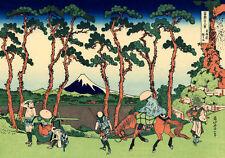 Hokusai Poster 13 cm 35x50 Poster Fine Art su Carta Fotografica Opaca Papiarte