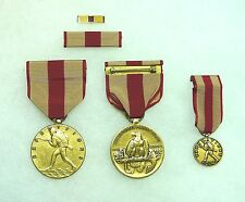 Department of the Navy, Marine Corps Expeditionary Medal, set of 4