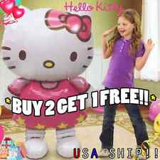 HUGE!! Hello Kitty Birthday Blloons Birthday Party Balloon Cute Fun