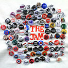 The Jam Badge Collection - 100 Quality Pin Button Badges (Paul Weller Mod Punk)