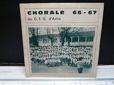 Chorale 66-67 du CEG d'Artix