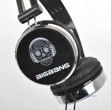 BIGBANG big bang VIP KPOP BLACK EARPHONES HEADPHONES TYPE E NEW