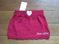 HELLO KITTY baby knit SKIRT Sanrio 2-4 months New