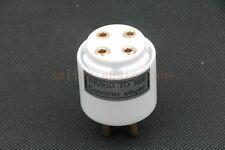 1pc Gold plated WE205D TO WE300B SG300B Tube converter adapter