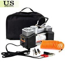 12V Auto Car Air Compressor Portable Tire Pump Electric Mini Inflator 150PSI