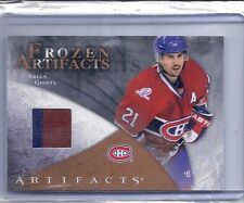 10-11 2010-11 ARTIFACTS BRIAN GIONTA FROZEN RETAIL JERSEY MONTREAL CANADIENS