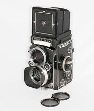 Rolleiflex 2.8F, model K7F2, cased, accessories, instructions, meter, full CLA