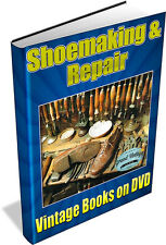 SHOEMAKING - 47 Vintage Books on DVD - Shoes, Boots, Fashion, Patterns