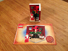 Lego Holiday Christmas Set 3300002 Fire Place Scene (2011).