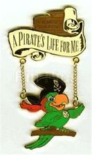 WDCC PIRATES LIFE Dangle PARROT ART CLASSICS 2000 SOLD OUT EVENT LE DISNEY PIN