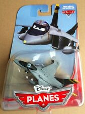 DISNEY PLANES 1/55TH MATTEL DIECAST TOY BRAVO NIP NAVY FIGHTER JET CARS PIXAR