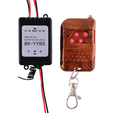 12V Wireless Remote Control Module W/Strobe For Car Vehicle Light LED Strips