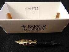 NEW OLD STOCK PARKER SONNET FINE 18k GOLD REPLACEMENT FOUNTAIN PEN NIB