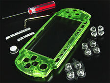 USA SELLER NEW XCM High Quality PSP-3001 PSP-3000 FACEPLATE Bling Crystal Green