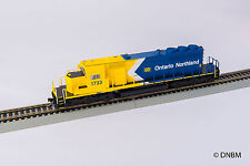 Bowser Ontario Northland ONR SD40-2 #1733 Locomotive (White Chevron) - DCC Sound