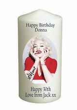 Cellini Candles Madonna Birthday Own Message Personalised Gift Card Unique #1