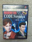 Resident Evil Code Veronica X - PS2 - Complete with Game, Case, & Manual